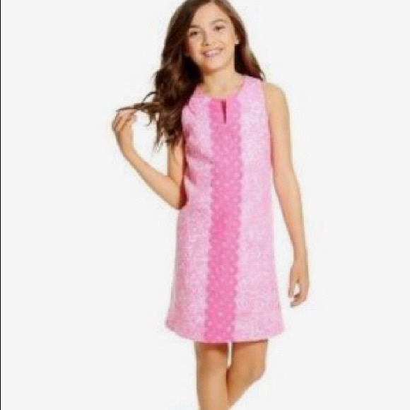 38ad6333ed861b Lilly Pulitzer for Target Dresses   Lilly Pulitzer Girls Pink Dress ...